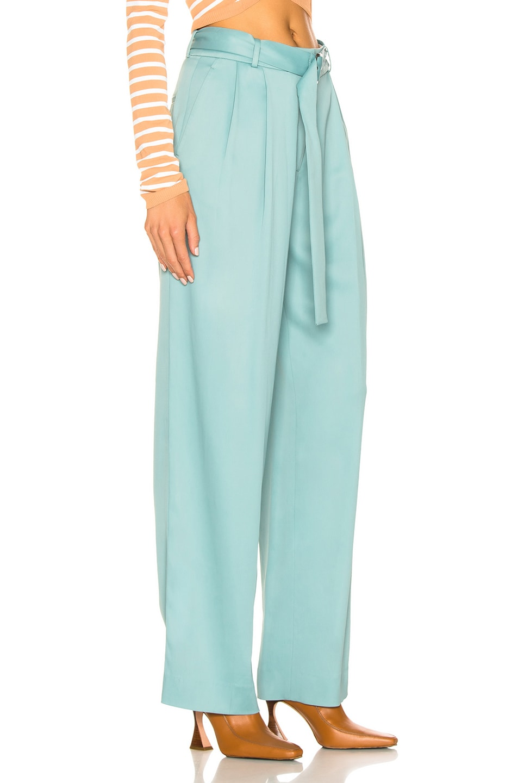 Image 2 of Sies Marjan Blanche Belted Pant in Soft Jade