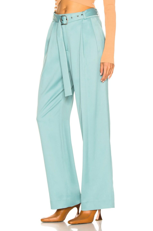 Image 3 of Sies Marjan Blanche Belted Pant in Soft Jade