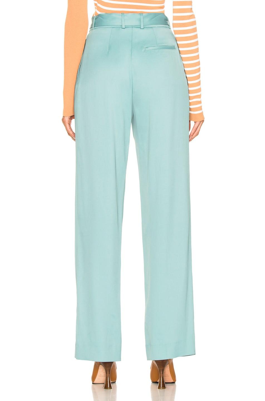 Image 4 of Sies Marjan Blanche Belted Pant in Soft Jade