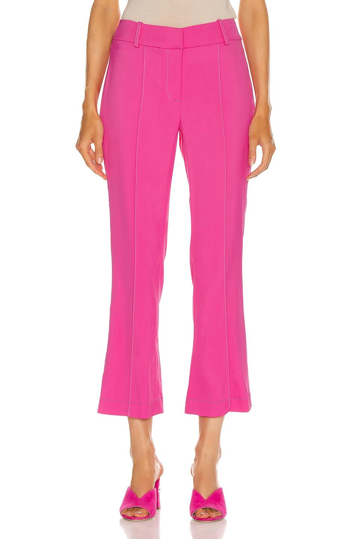 Image 1 of Sies Marjan Danit Flare Pant in Fluo Pink