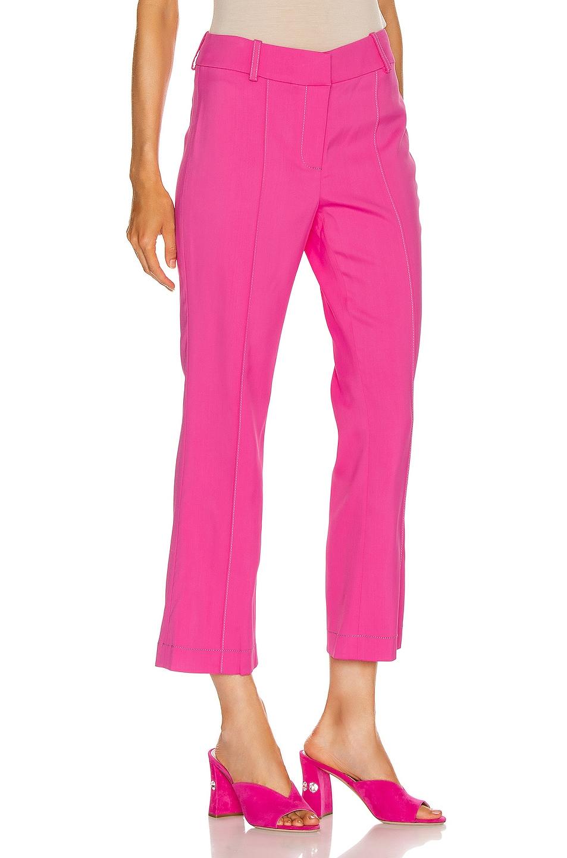 Image 2 of Sies Marjan Danit Flare Pant in Fluo Pink