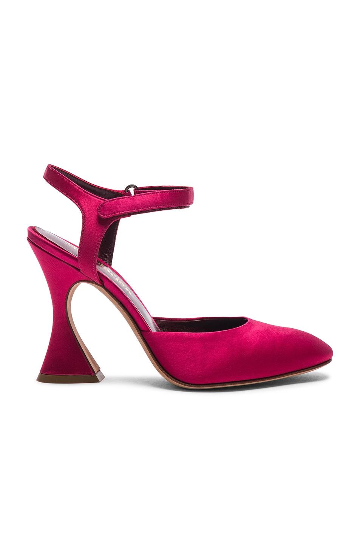 Sies marjan Satin Elga Ankle Strap Heels in . u7GvZOlrud