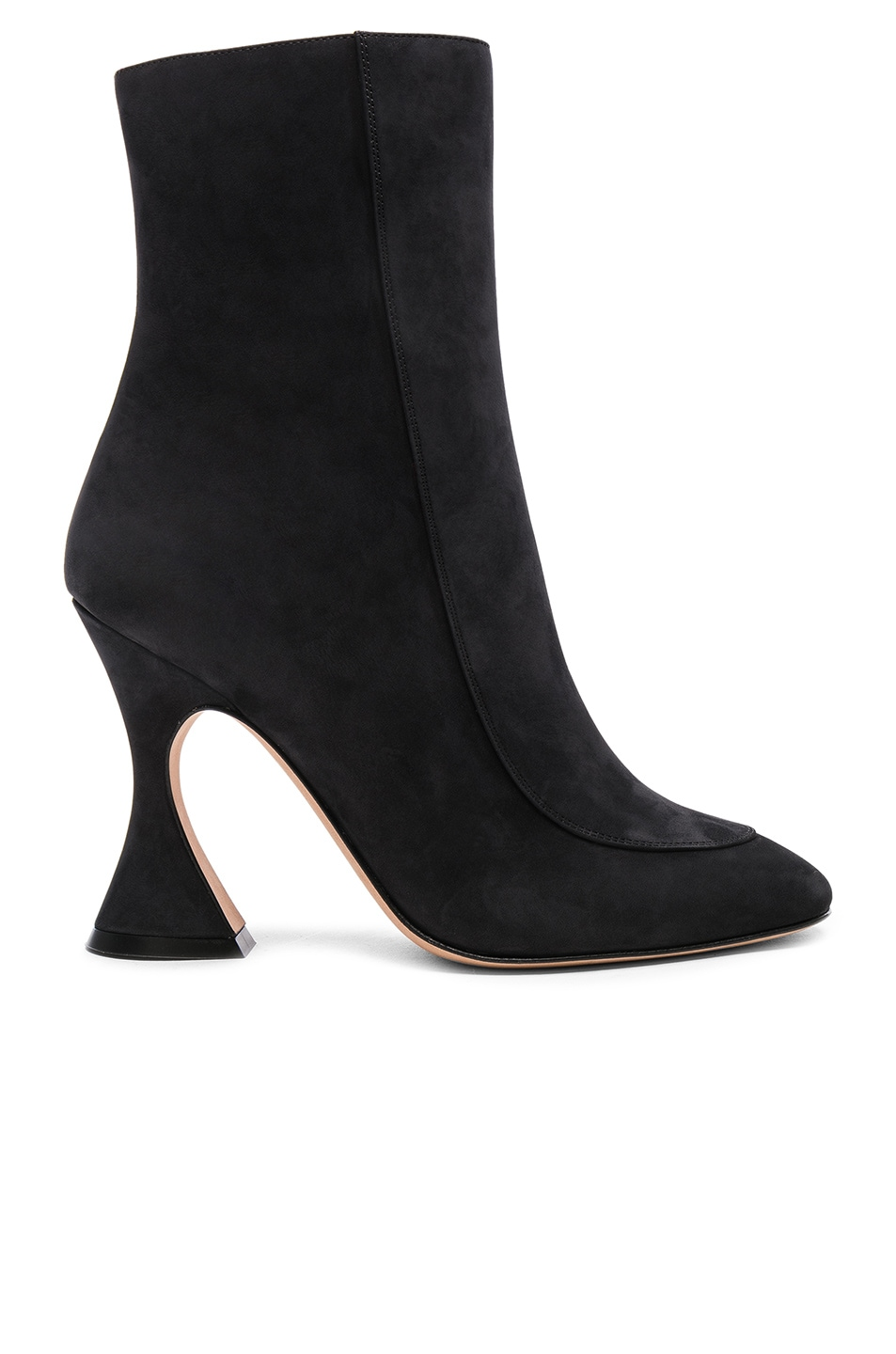 Sies marjan Emma 100mm suede ankle boots meCX11t