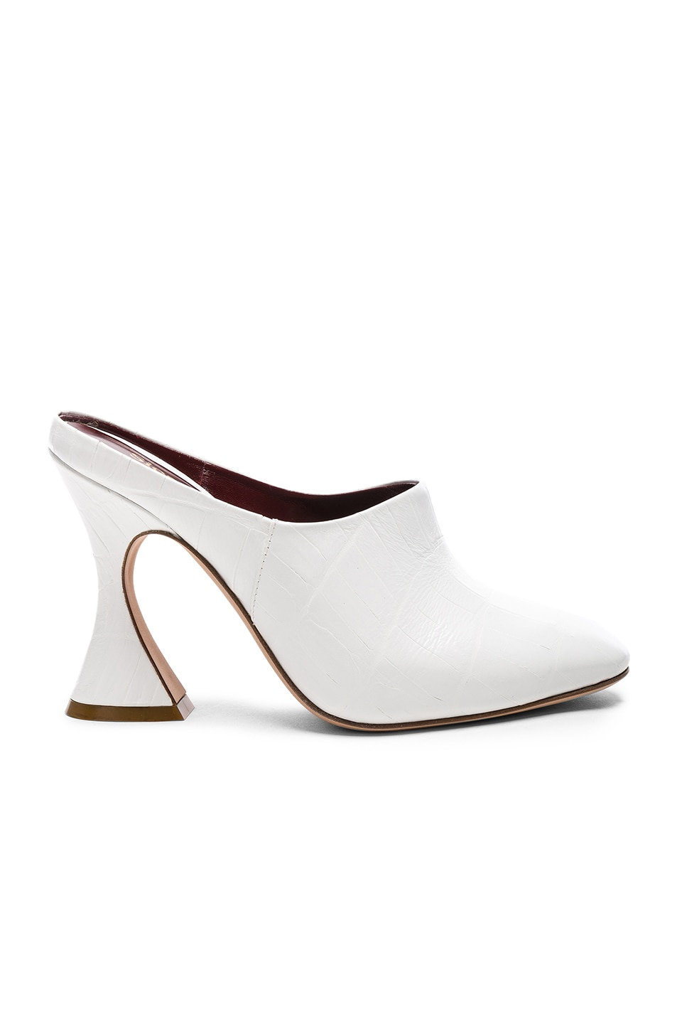 Comfortable Sale Online Sies marjan Elisa embossed leather mules Real Online Clearance Outlet Store 3LqwWD2jW