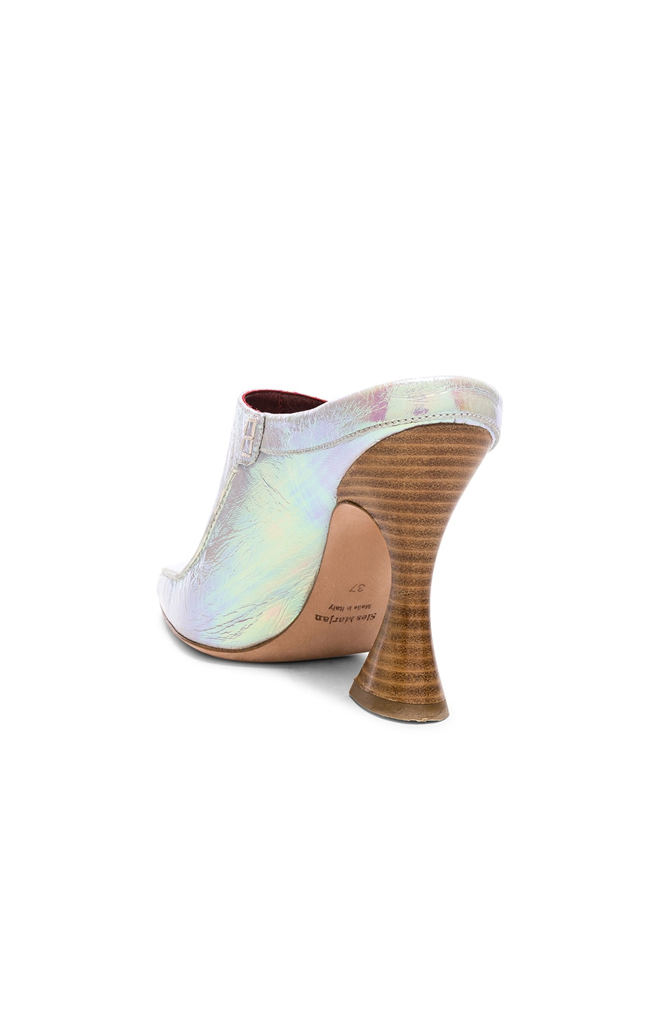 Image 3 of Sies Marjan Dena Holographic Loafer in Multicolored