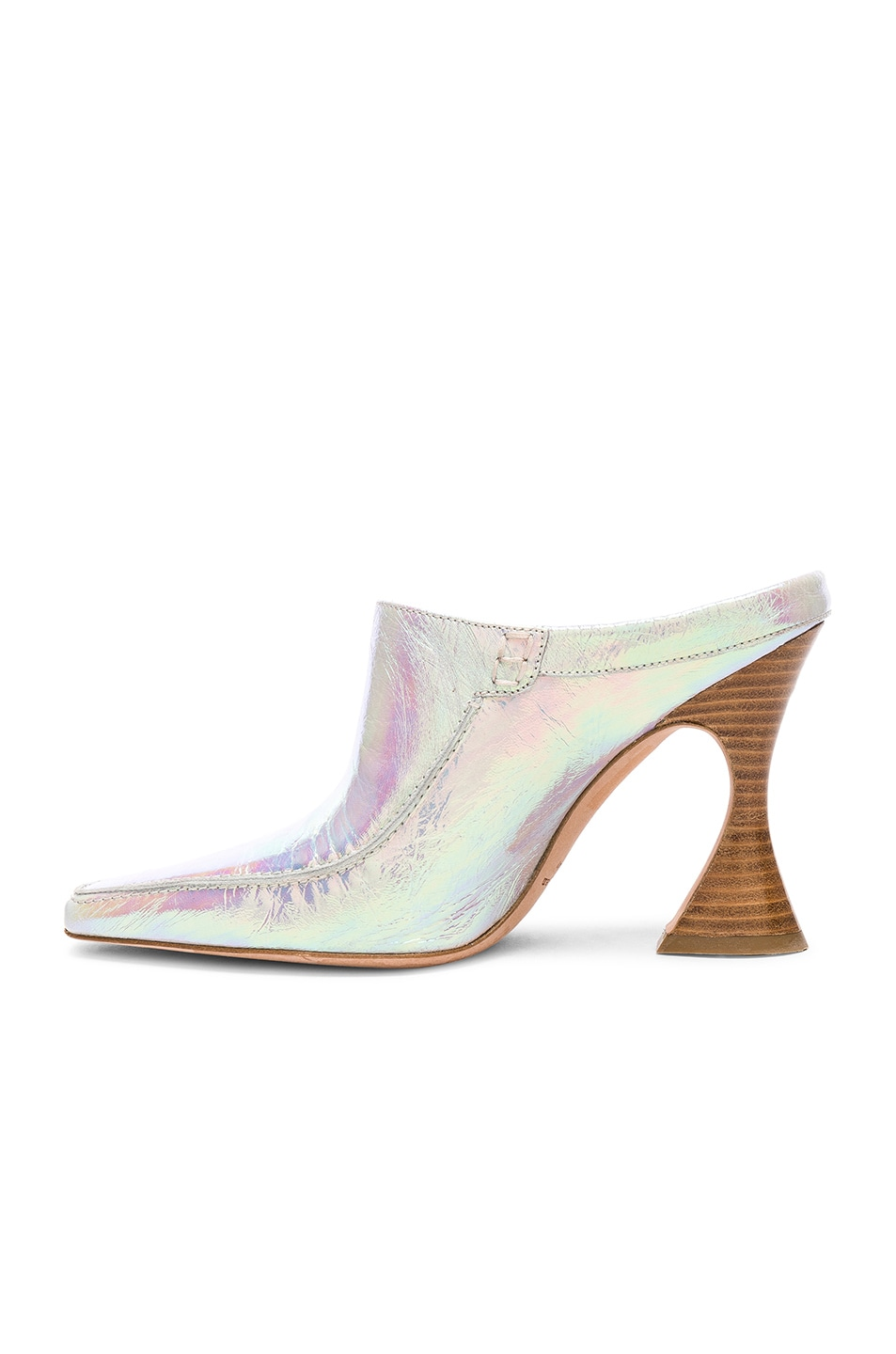 Image 5 of Sies Marjan Dena Holographic Loafer in Multicolored