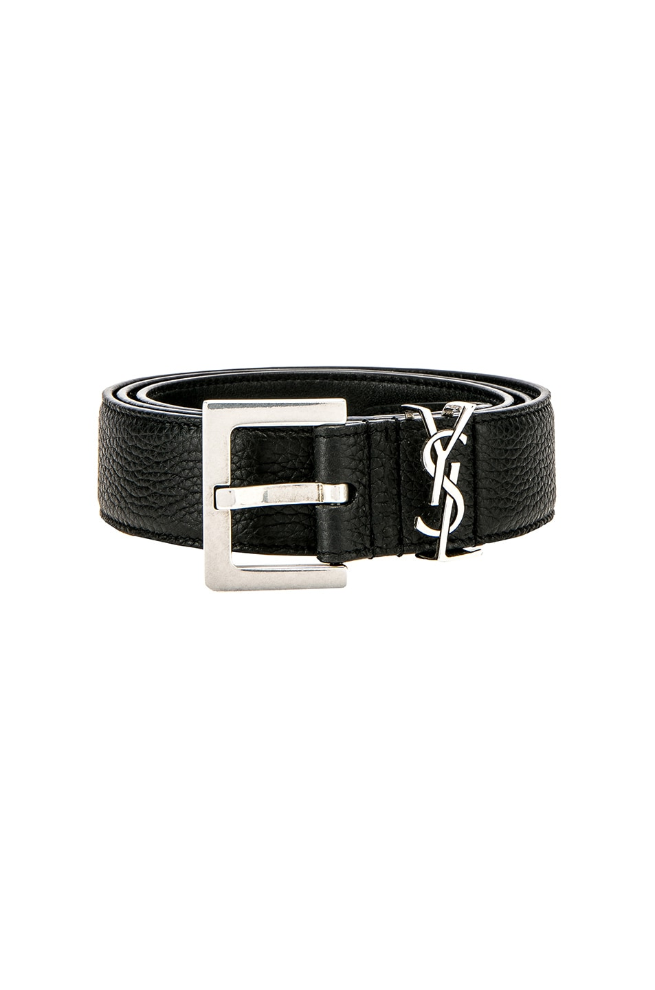 Image 1 of Saint Laurent Belt in Black