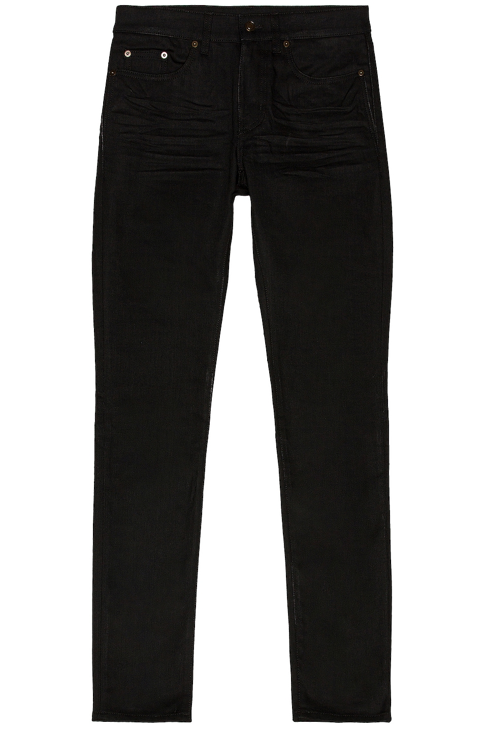 Image 1 of Saint Laurent Skinny Jean in Used Black