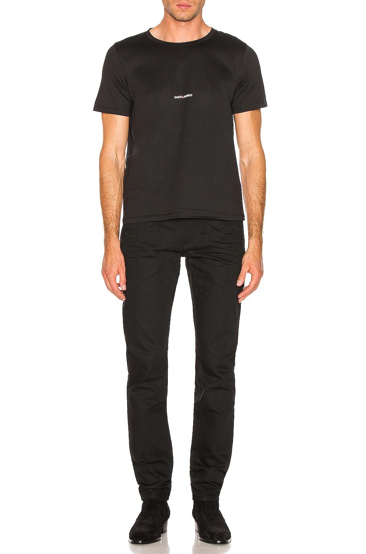 Image 4 of Saint Laurent Low Rise Skinny Jeans in Black