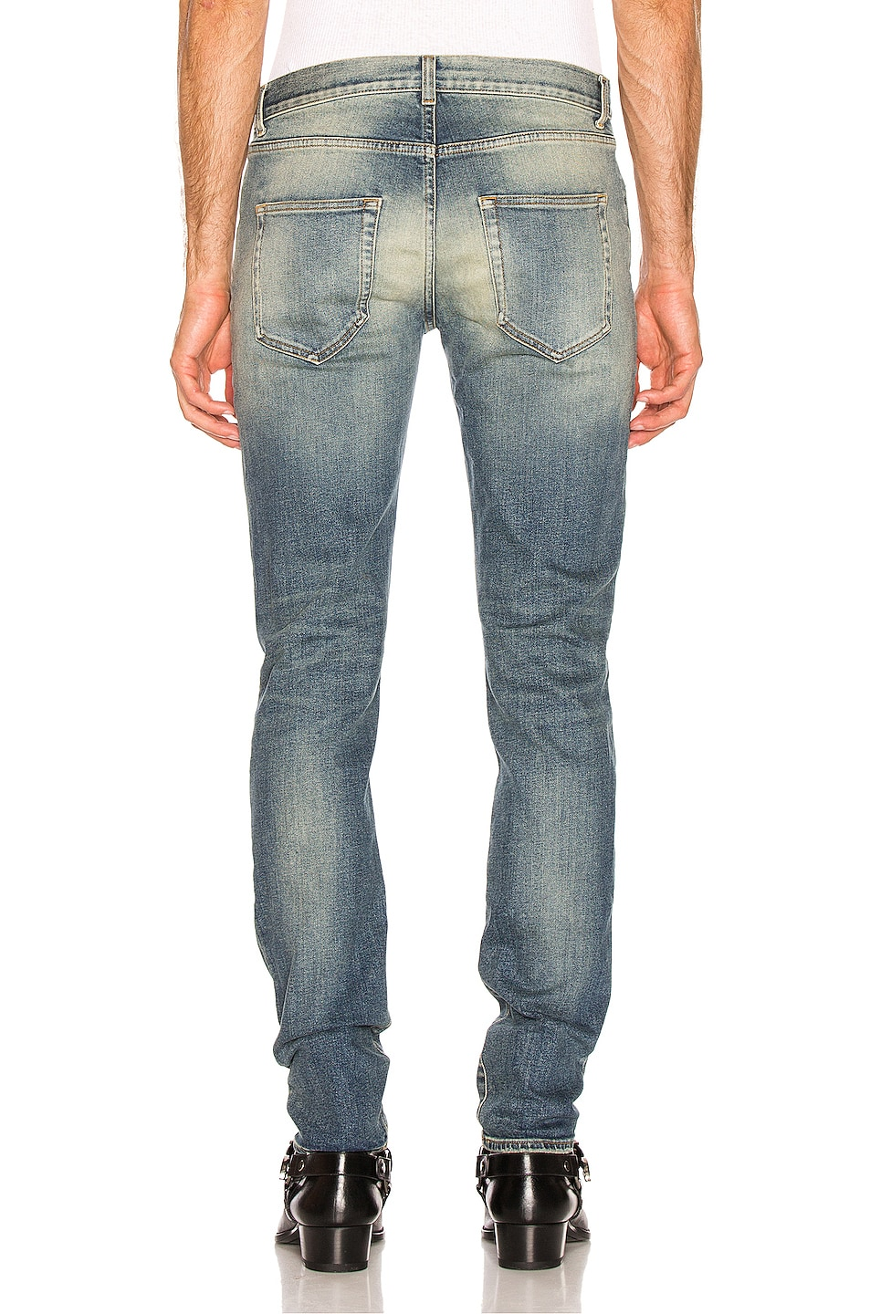 Image 3 of Saint Laurent Slim Jeans in Medium Blue