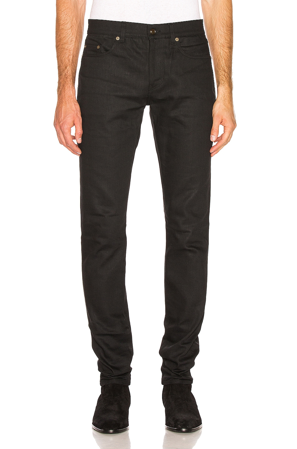 Image 1 of Saint Laurent Skinny Jeans in Black