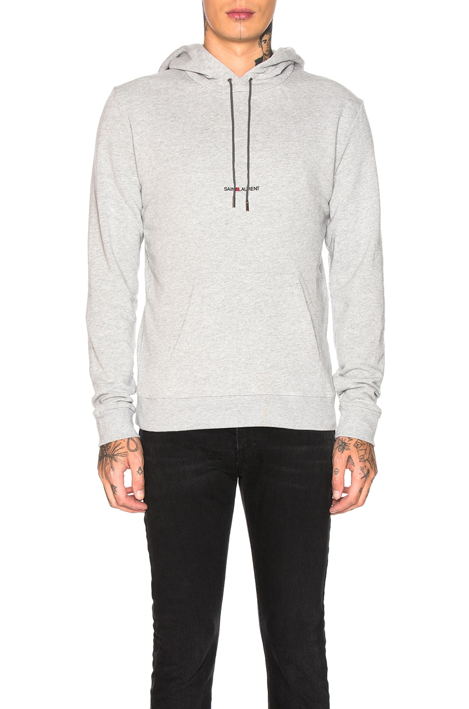 Image 1 of Saint Laurent Hoodie in Grey