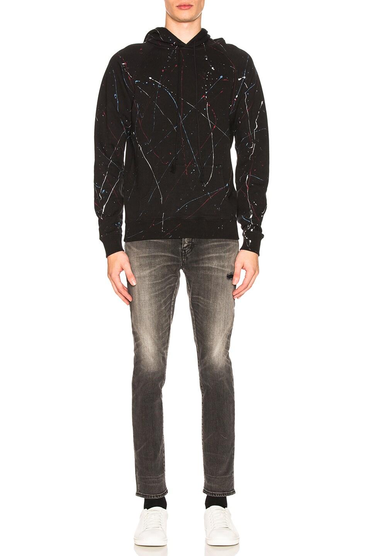 Image 4 of Saint Laurent Hoodie in Black