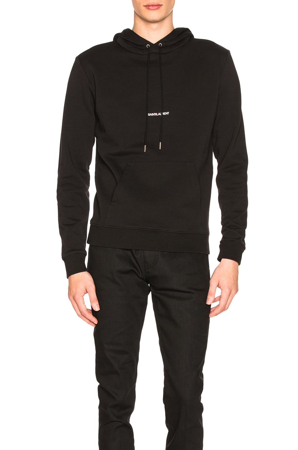 Image 1 of Saint Laurent Classic Hoodie in Black