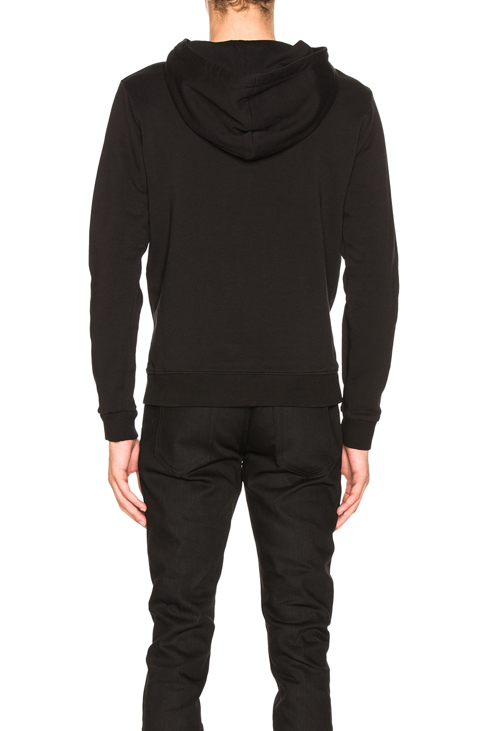 Image 3 of Saint Laurent Classic Hoodie in Black
