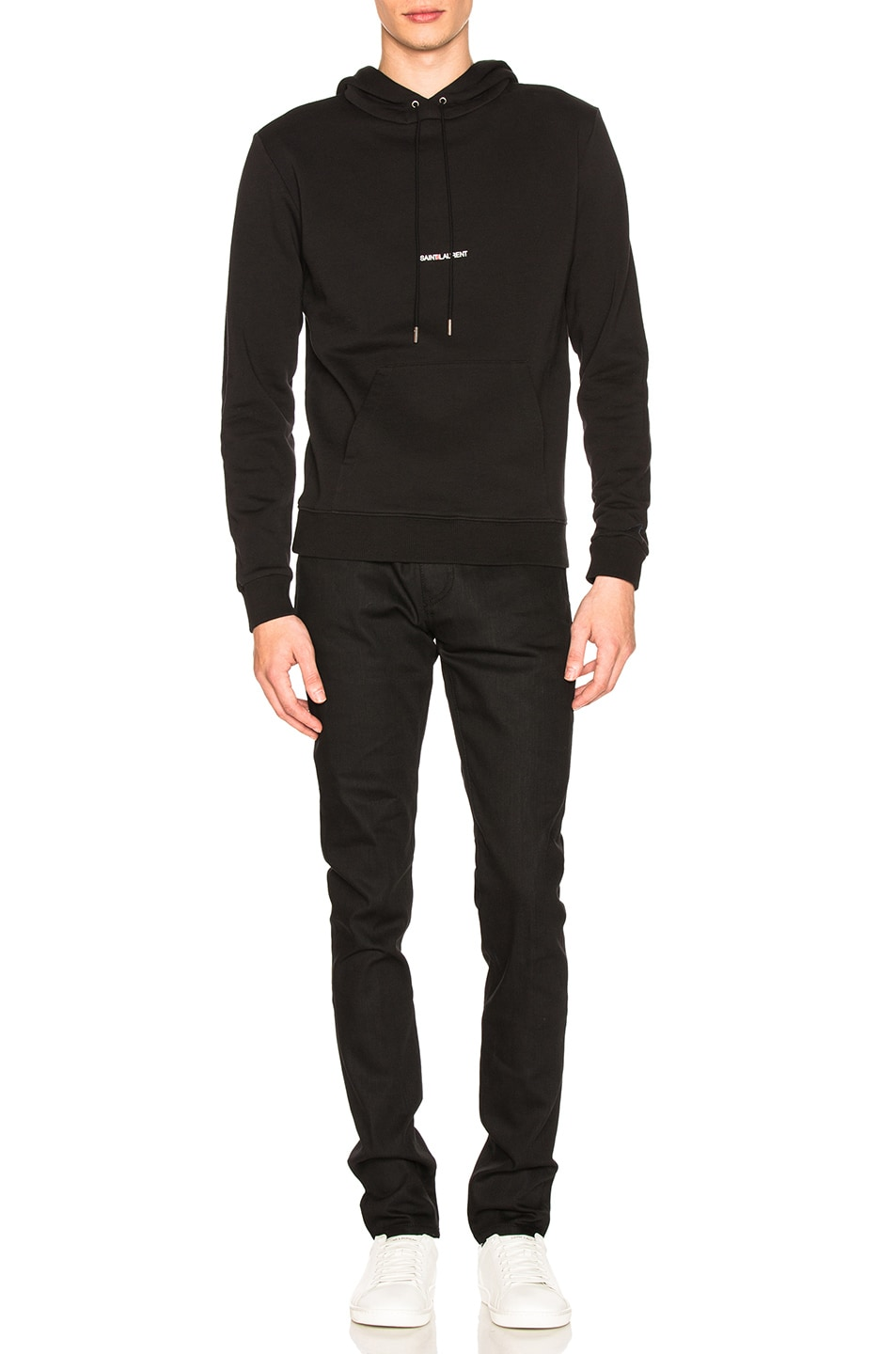 Image 4 of Saint Laurent Classic Hoodie in Black