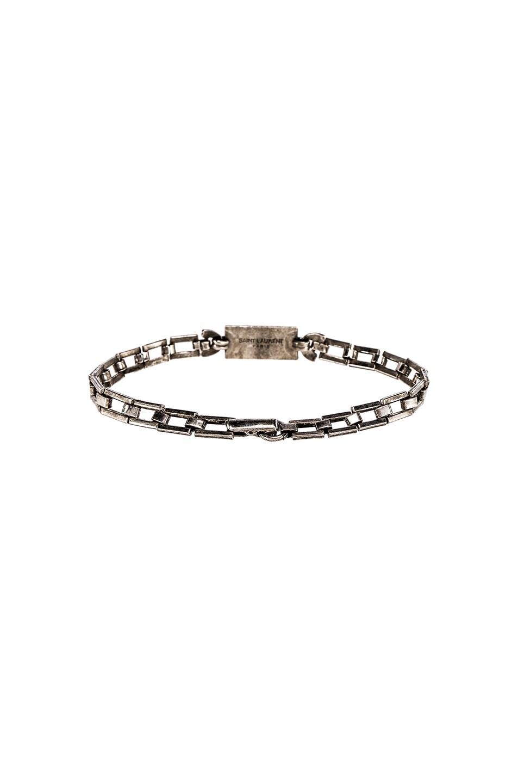 Image 3 of Saint Laurent Bracelet in Silver