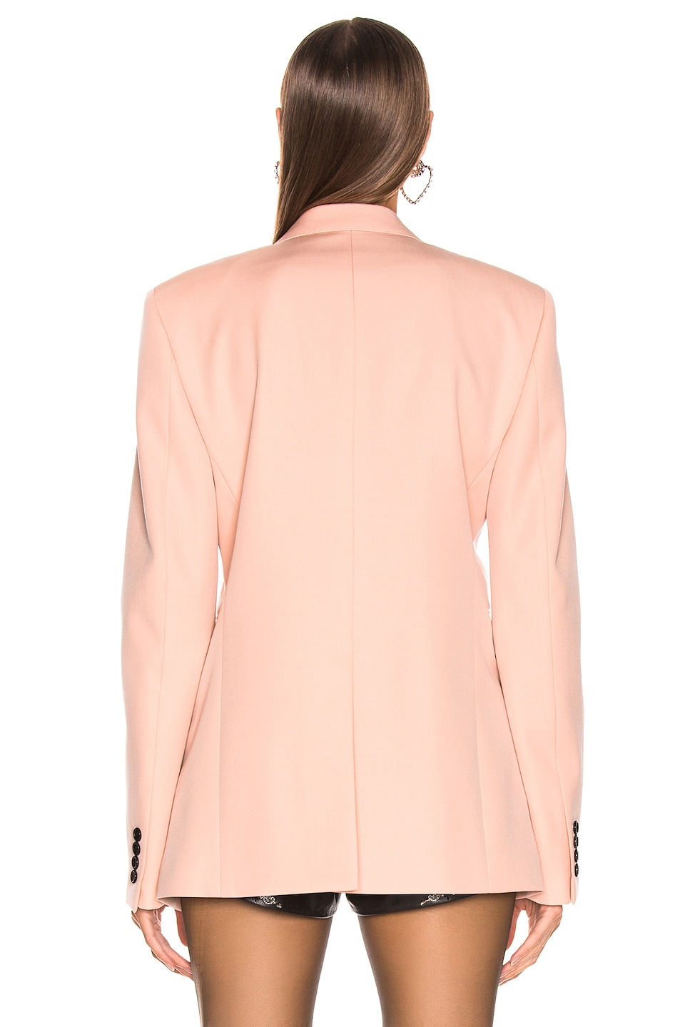 Image 4 of Saint Laurent Blazer in Pale Rose
