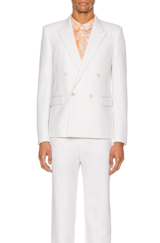 Image 2 of Saint Laurent Suit Jacket in Chalk