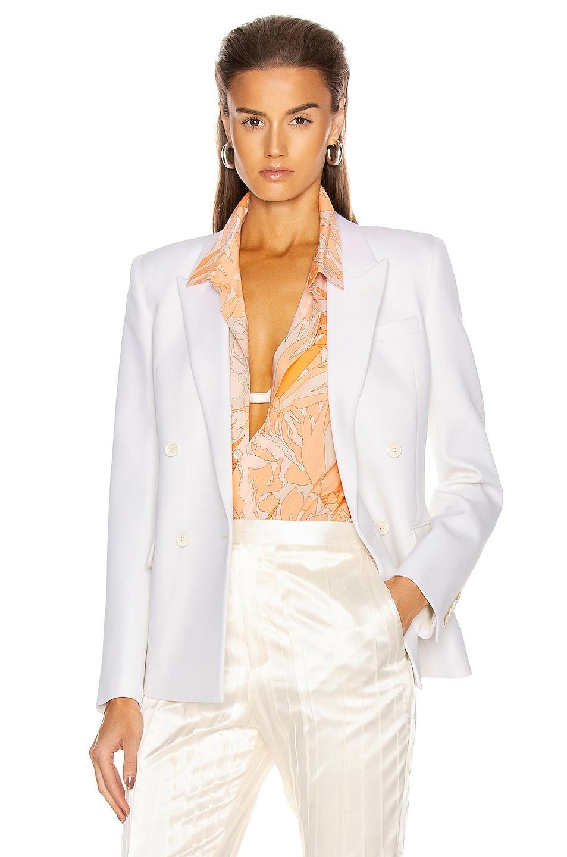 Image 1 of Saint Laurent Suit Jacket in Chalk