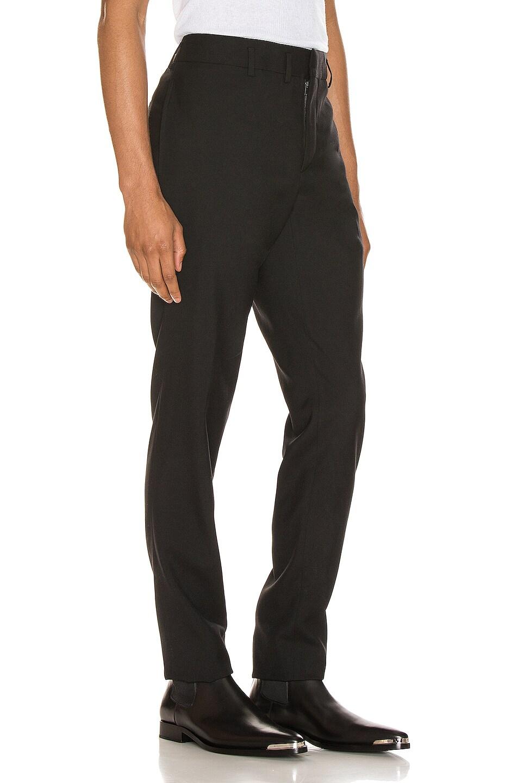 Image 2 of Saint Laurent Gabardine Trouser in Black