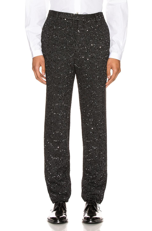 Image 1 of Saint Laurent Fit Trousers in Black