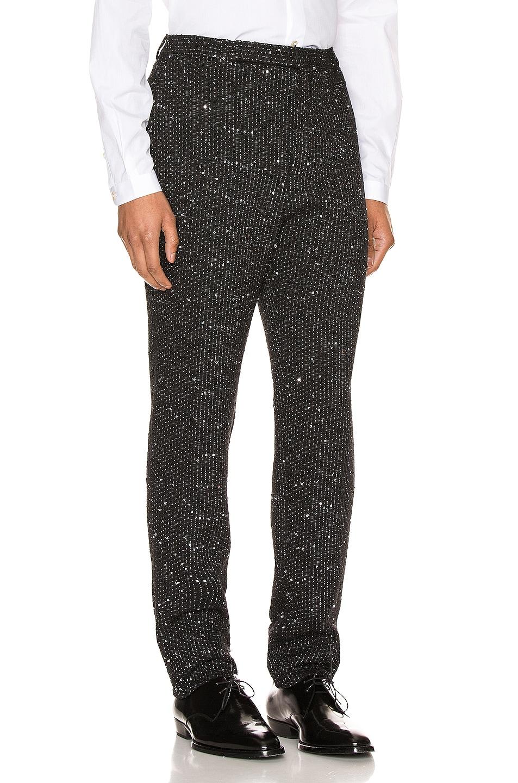 Image 2 of Saint Laurent Fit Trousers in Black
