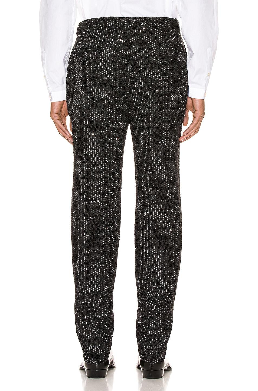 Image 3 of Saint Laurent Fit Trousers in Black