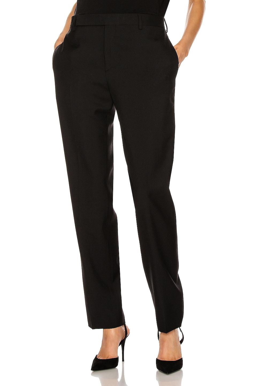 Image 1 of Saint Laurent Classic Trouser in Black