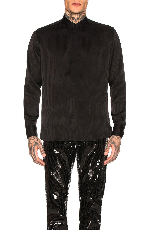Image 1 of Saint Laurent Long Sleeve Shirt in Black