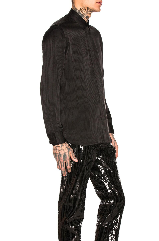 Image 2 of Saint Laurent Long Sleeve Shirt in Black