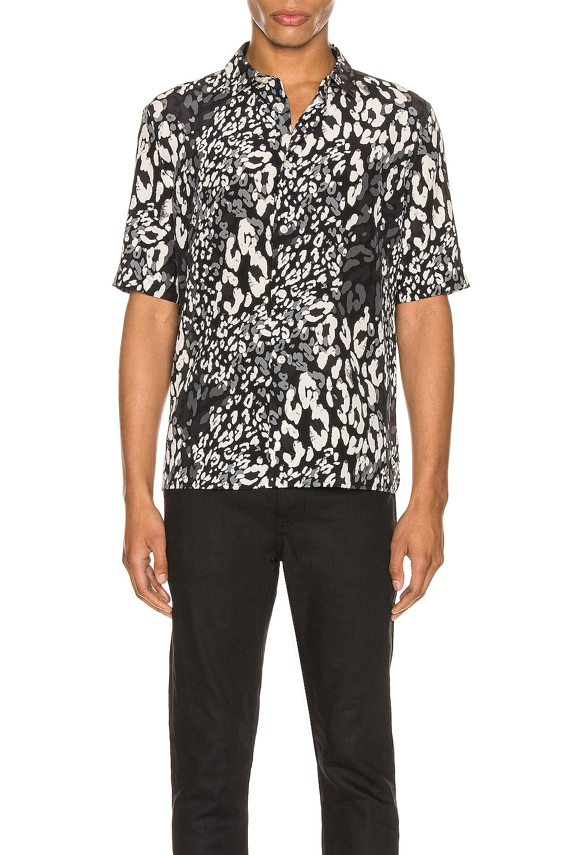 Image 1 of Saint Laurent Short Sleeve Shirt in Black