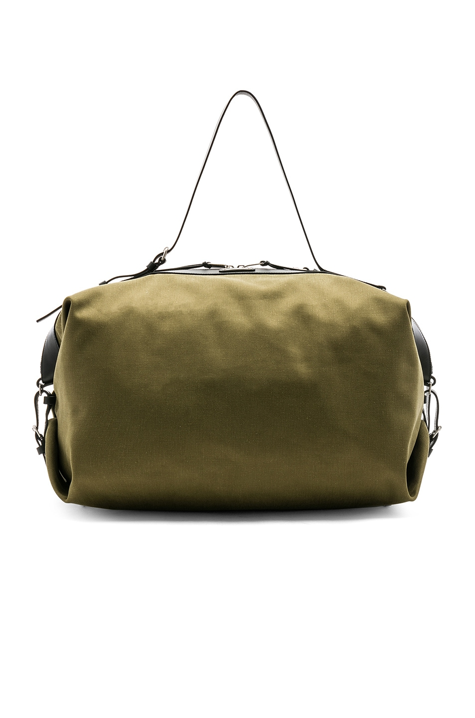 Image 1 of Saint Laurent Large Convertible Bag in Green