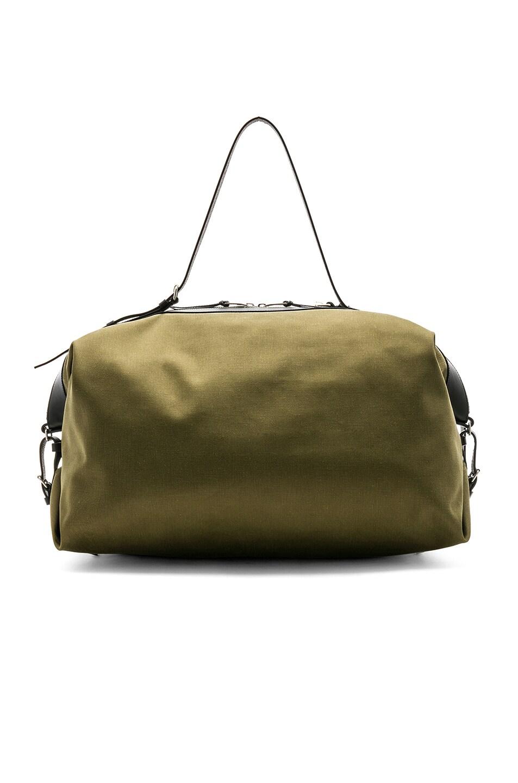 Image 2 of Saint Laurent Large Convertible Bag in Green