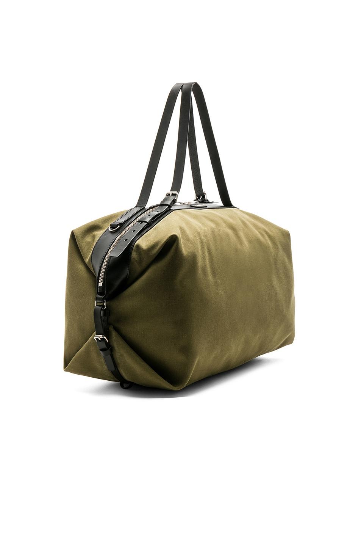 Image 3 of Saint Laurent Large Convertible Bag in Green