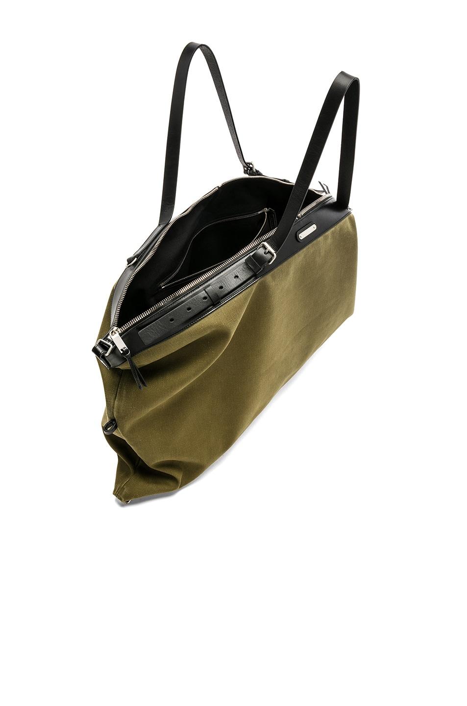 Image 5 of Saint Laurent Large Convertible Bag in Green