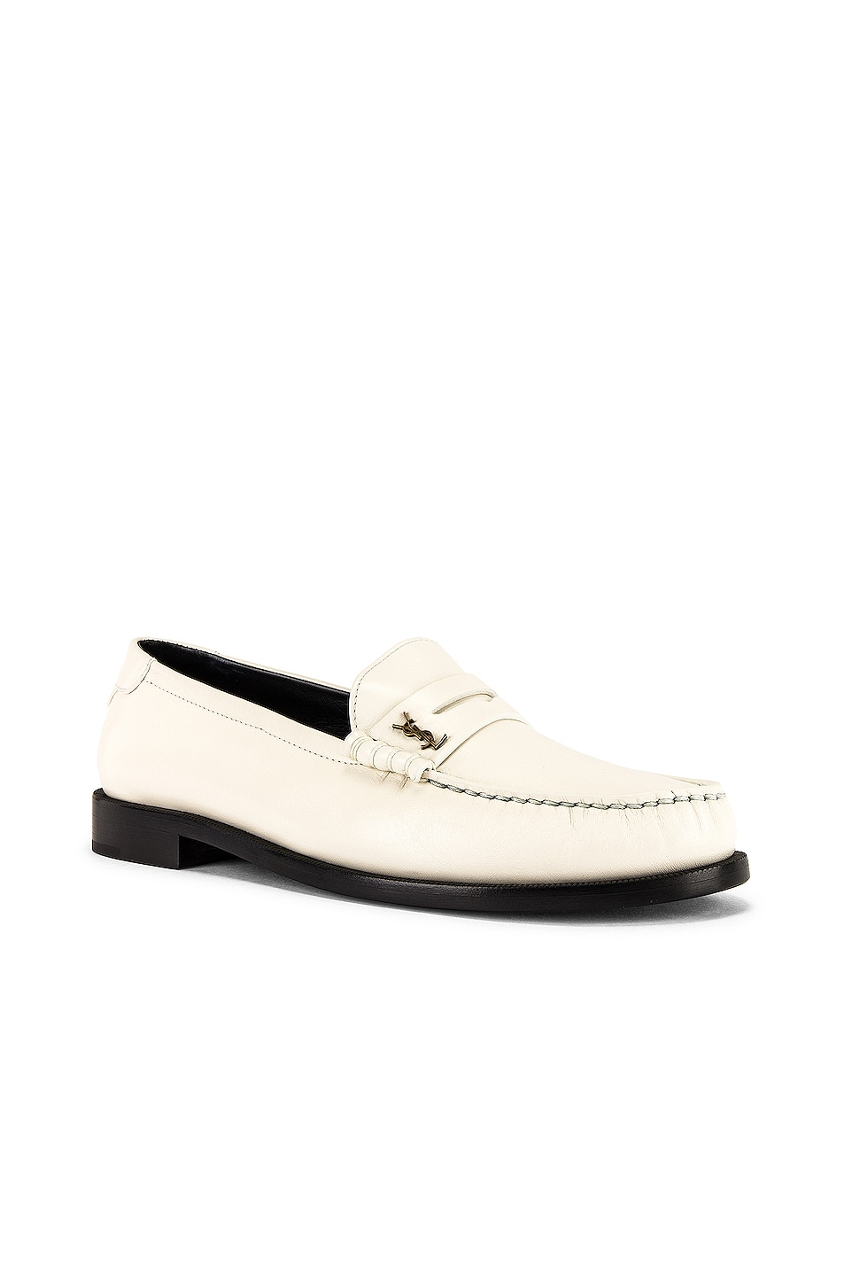 Image 1 of Saint Laurent Twenty 15 YSL Loafer in Pearl