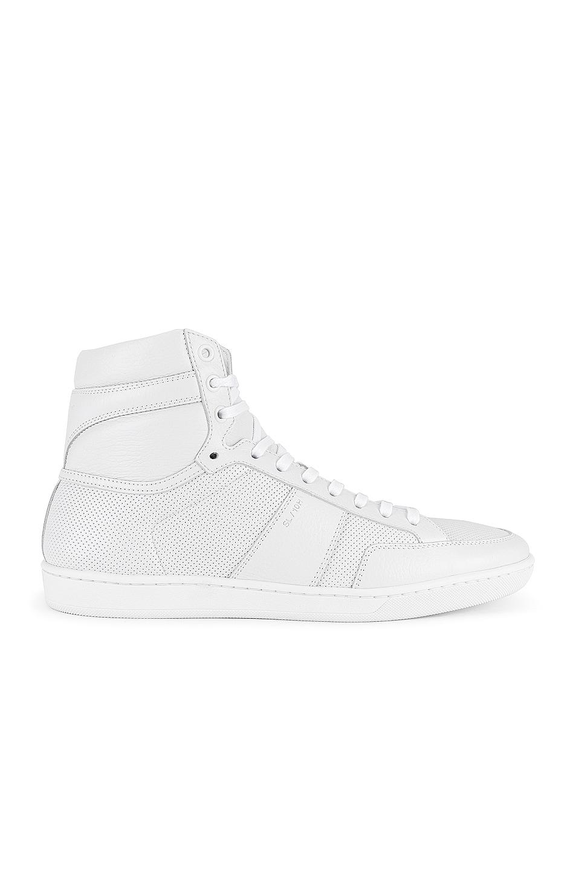 Image 1 of Saint Laurent SL/10H Sneaker in White