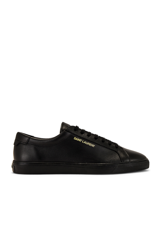 Image 1 of Saint Laurent Andy Sneaker in Black