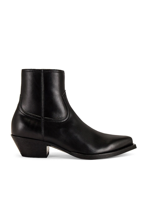 Image 1 of Saint Laurent Lukas Boot in Black