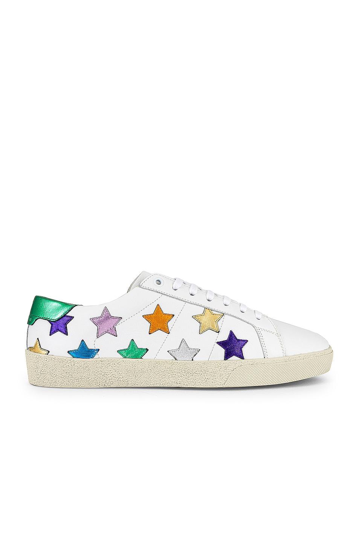 Image 1 of Saint Laurent SL/06 Star Sneaker in Multi
