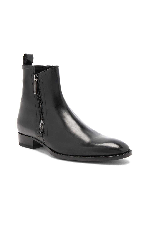 Saint Laurent Wyatt zippered boots 2CuFGGNI