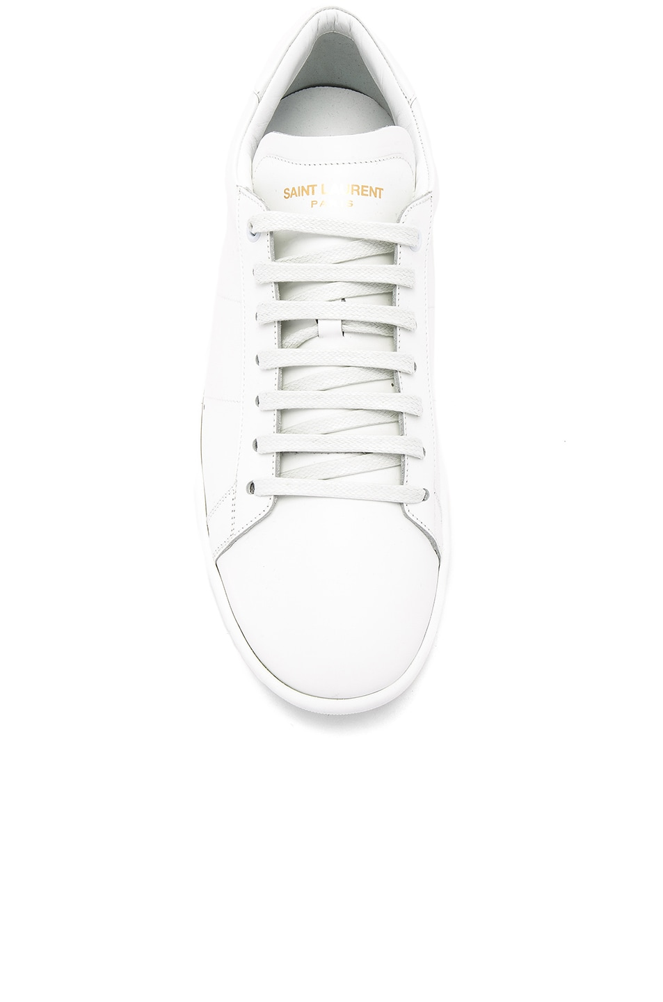Image 4 of Saint Laurent Court Classic SL/01 Sneakers in White