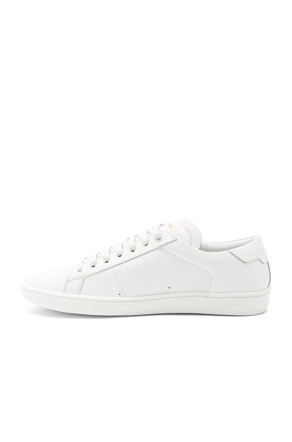 Image 5 of Saint Laurent Court Classic SL/01 Sneakers in White