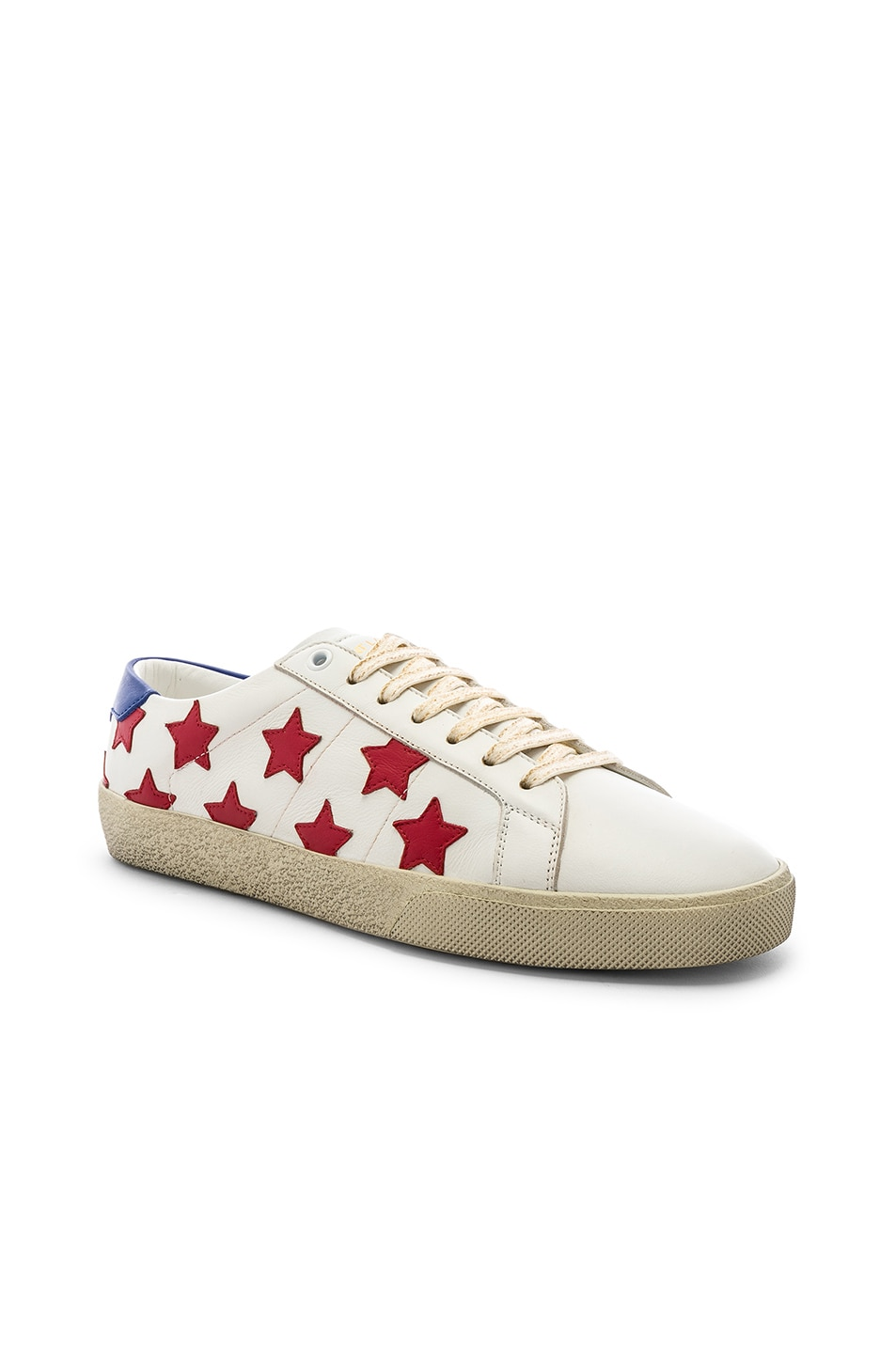 fc57f32aa6e Image 1 of Saint Laurent Court Classic SL/06 California Star Sneakers in  White &