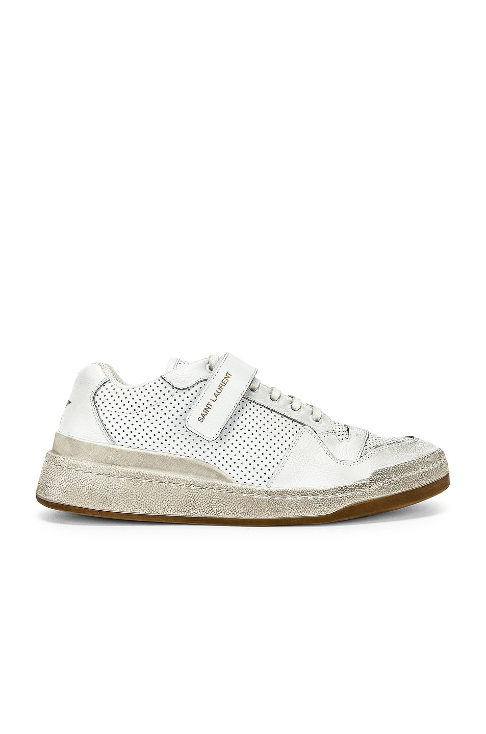 Image 1 of Saint Laurent Jeddo Low Tops in White