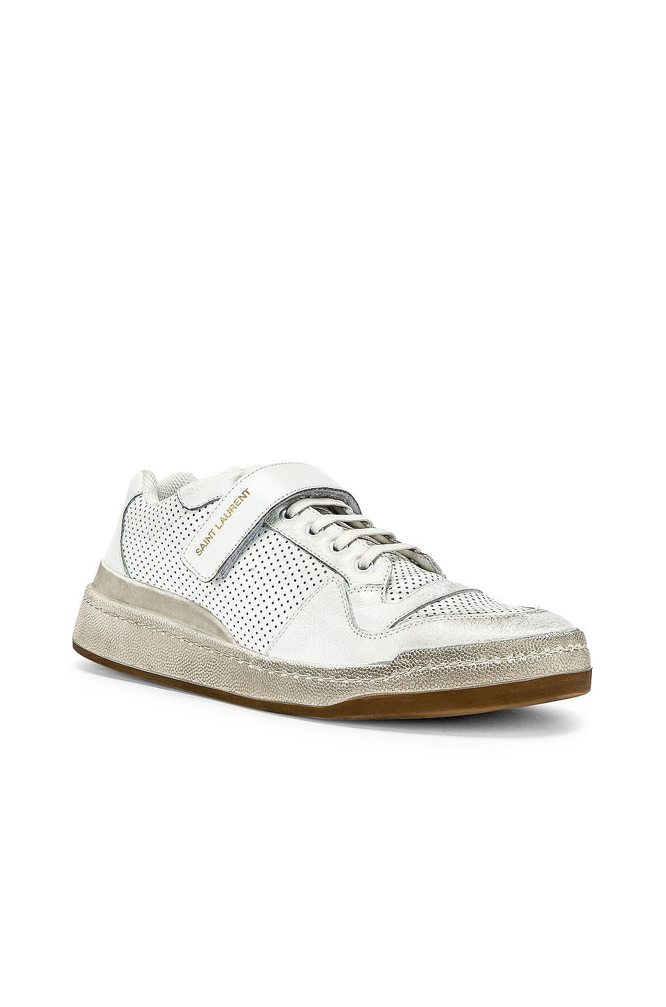 Image 2 of Saint Laurent Jeddo Low Tops in White