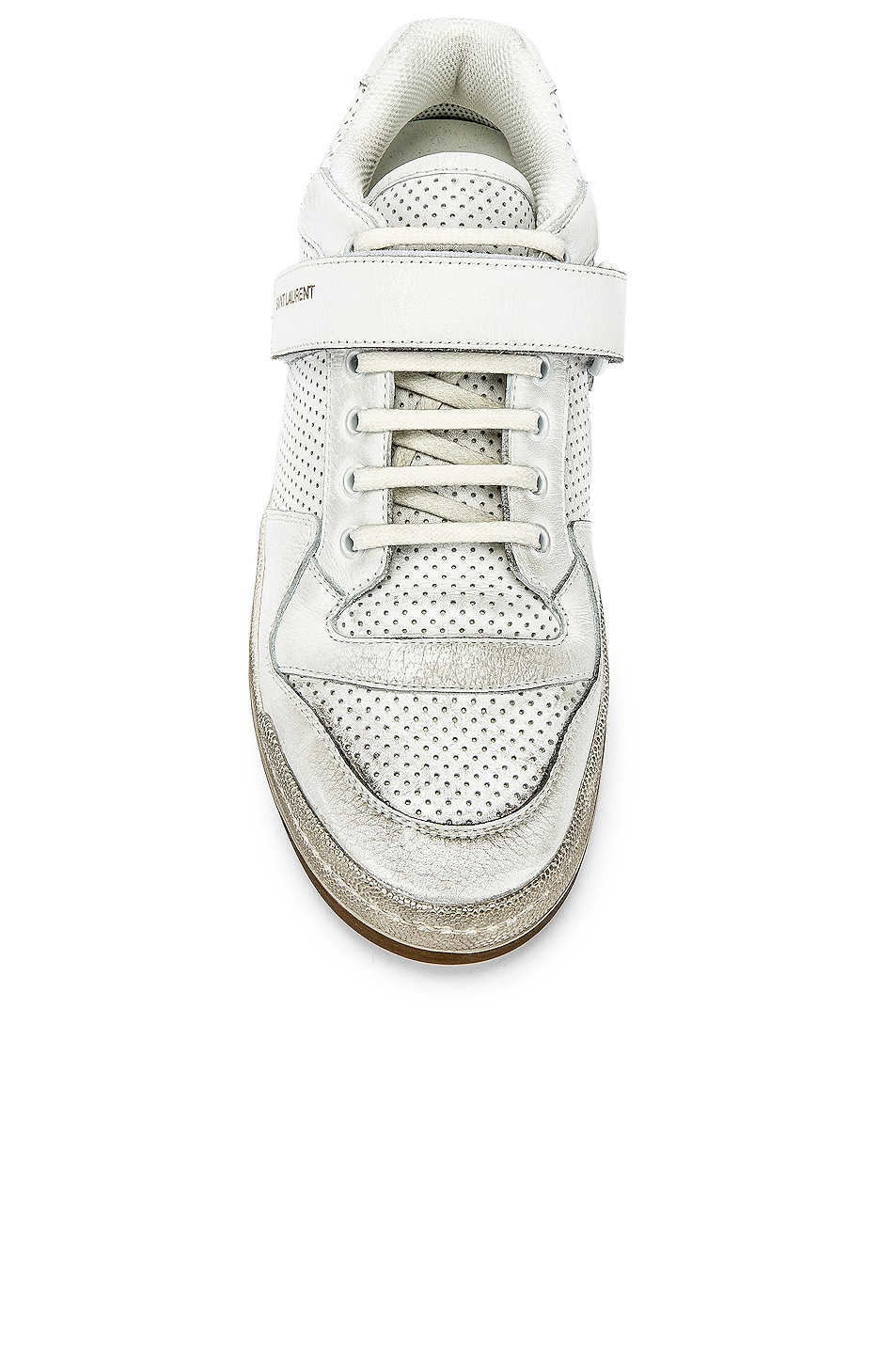 Image 4 of Saint Laurent Jeddo Low Tops in White