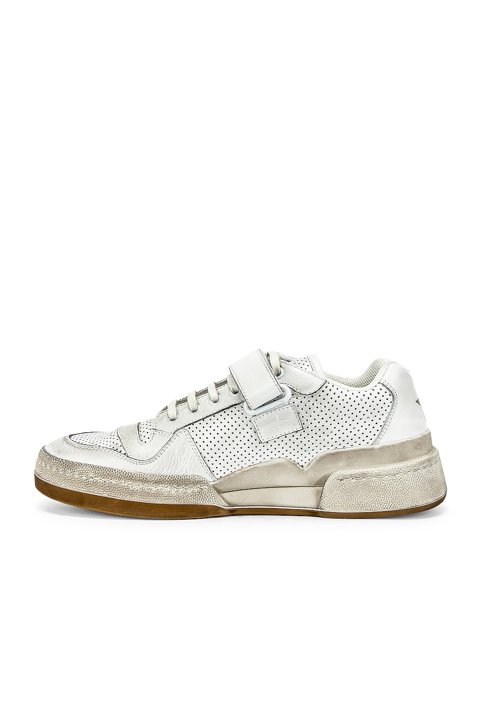 Image 5 of Saint Laurent Jeddo Low Tops in White