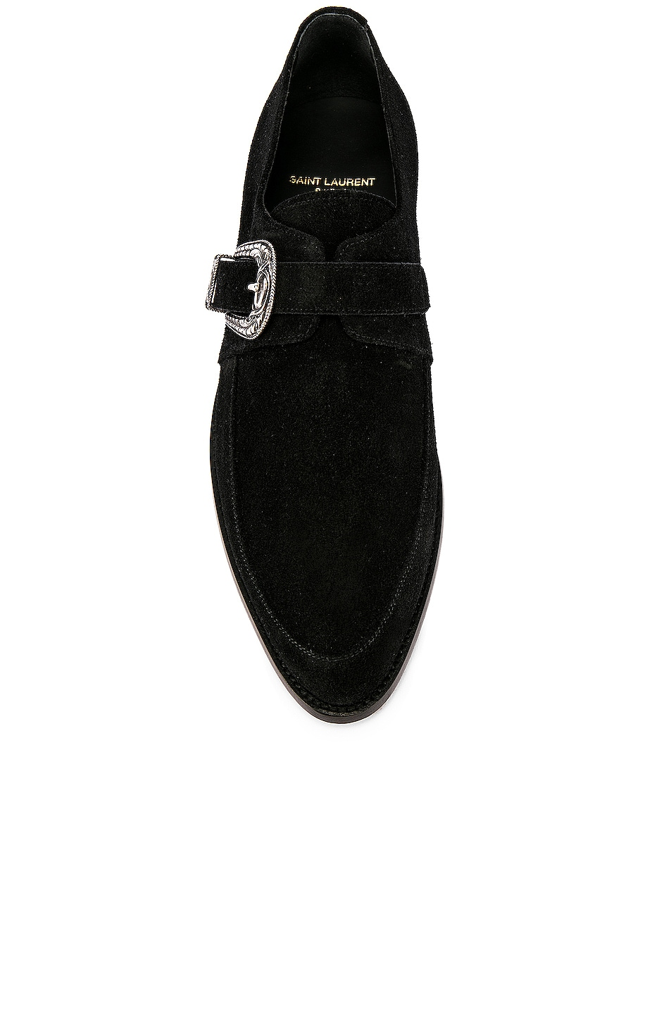 Image 4 of Saint Laurent Charles Dress Shoes in Black